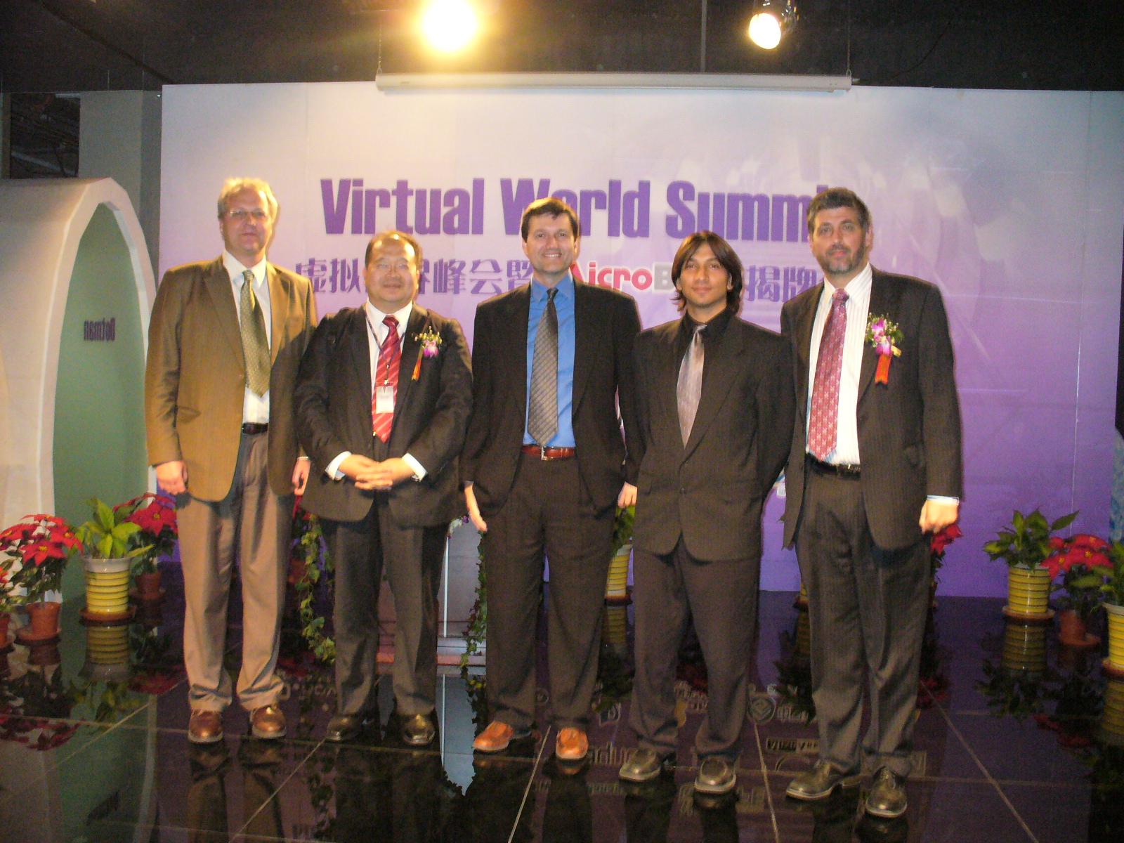 Dr. Robert Lai with Damon, Greg, Chris and Myself