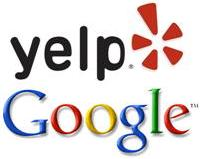 Yelp and Google