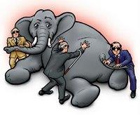 Blind Men with Elephant